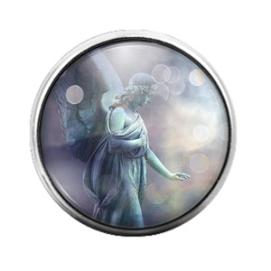 Angel - 18MM Glass Dome Candy Snap Charm GD0610