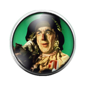 Wizard of Oz - 18MM Glass Dome Candy Snap Charm GD0783