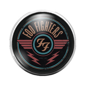 Foo Fighters - 18MM Glass Dome Candy Snap Charm GD0709
