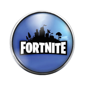 Fortnite- 18MM Glass Dome Candy Snap Charm GD1020