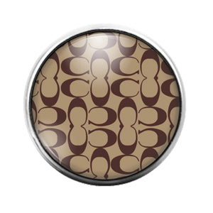 Coach - 18MM Glass Dome Candy Snap Charm GD1515