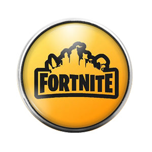 Fortnite- 18MM Glass Dome Candy Snap Charm GD1049