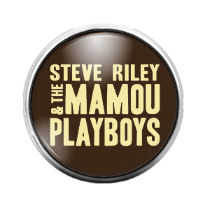 Steve Riley Mamou Playboys- 18MM Glass Dome Candy Snap Charm GD0710