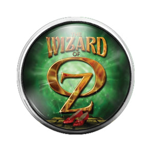 Wizard of Oz - 18MM Glass Dome Candy Snap Charm GD0785