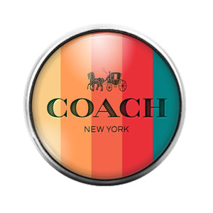 Coach - 18MM Glass Dome Candy Snap Charm GD1516