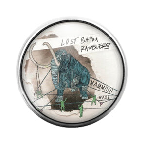 Lost Bayou Ramblers - 18MM Glass Dome Candy Snap Charm GD0711