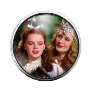 Wizard of Oz - 18MM Glass Dome Candy Snap Charm GD0786