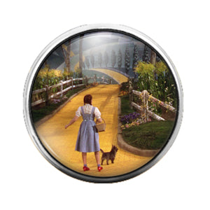Wizard of Oz - 18MM Glass Dome Candy Snap Charm GD0787