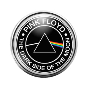 Pink Floyd- 18MM Glass Dome Candy Snap Charm GD0975