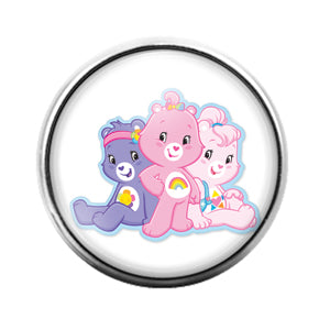 Carebears - 18MM Glass Dome Candy Snap Charm GD0694
