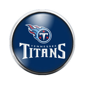 Tennessee Titans- 18MM Glass Dome Candy Snap Charm GD0404
