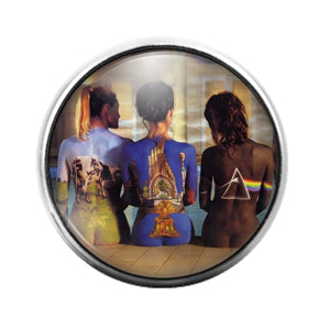 Pink Floyd - 18MM Glass Dome Candy Snap Charm GD1227