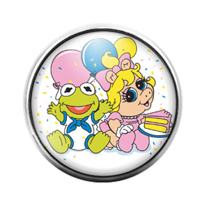 Muppet Babies- 18MM Glass Dome Candy Snap Charm GD1329