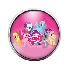 My Little Pony - 18MM Glass Dome Candy Snap Charm GD0718