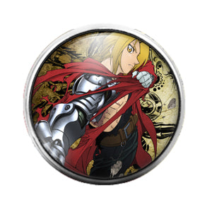 Anime - 18MM Glass Dome Candy Snap Charm GD0477