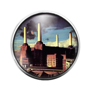 Pink Floyd - 18MM Glass Dome Candy Snap Charm GD1232