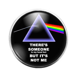 Pink Floyd - 18MM Glass Dome Candy Snap Charm GD1234
