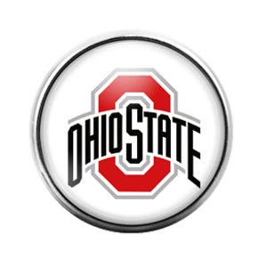 Ohio State - 18MM Glass Dome Candy Snap Charm GD0569