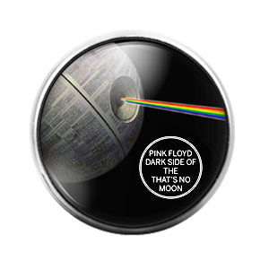 Pink Floyd - 18MM Glass Dome Candy Snap Charm GD1235