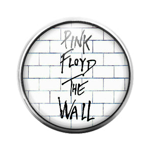 Pink Floyd - 18MM Glass Dome Candy Snap Charm GD1236