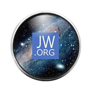 Jehovah's Witness- 18MM Glass Dome Candy Snap Charm GD1307