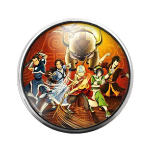 Avatar- 18MM Glass Dome Candy Snap Charm GD0982