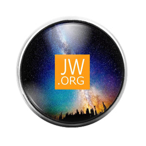 Jehovah's Witness- 18MM Glass Dome Candy Snap Charm GD1308