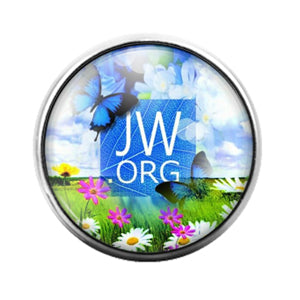 Jehovah's Witness- 18MM Glass Dome Candy Snap Charm GD1309