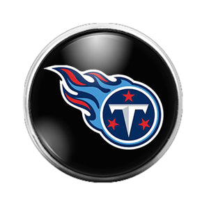 Tennessee Titans - 18MM Glass Dome Candy Snap Charm GD0599