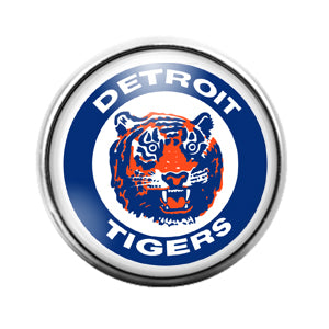 Detroit Tigers - 18MM Glass Dome Candy Snap Charm GD0840