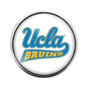 UCLA Bruins - 18MM Glass Dome Candy Snap Charm GD0848
