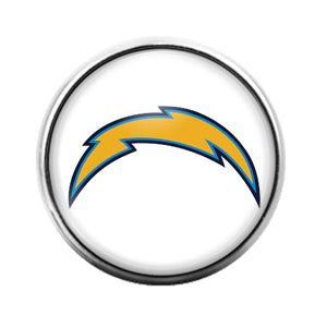 San Diego Chargers - 18MM Glass Dome Candy Snap Charm GD0860