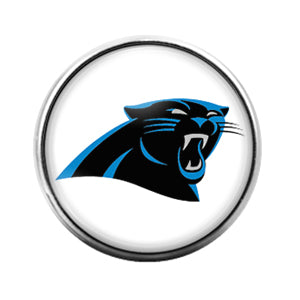 Carolina Panthers- 18MM Glass Dome Candy Snap Charm GD0949