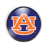 Auburn University- 18MM Glass Dome Candy Snap Charm GD1073