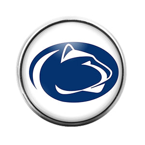 Penn State- 18MM Glass Dome Candy Snap Charm GD1107