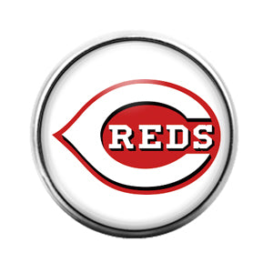 Cincinatti Reds- 18MM Glass Dome Candy Snap Charm GD1160