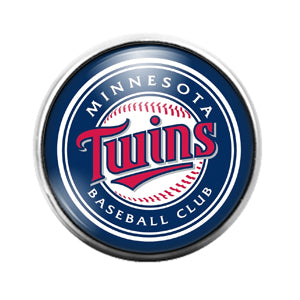 Minnesota Twins- 18MM Glass Dome Candy Snap Charm GD1202