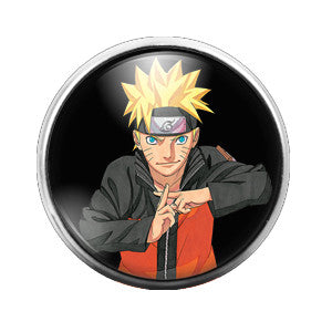 Dragon Ball Z - 18MM Glass Dome Candy Snap Charm GD0342
