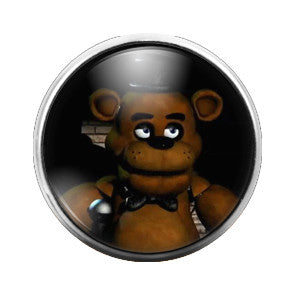 Five Nights at Freddie- 18MM Glass Dome Candy Snap Charm GD0136