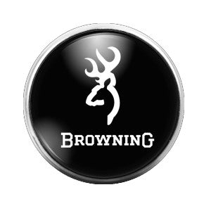 Browning Deer - 18MM Glass Dome Candy Snap Charm GD0171