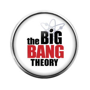 The Big Bang Theory- 18MM Glass Dome Candy Snap Charm GD0222
