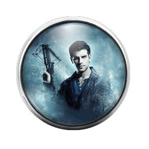 Grimm- 18MM Glass Dome Candy Snap Charm GD0162