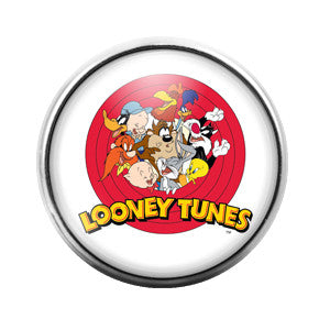 Looney Toons - 18MM Glass Dome Candy Snap Charm GD0166