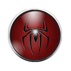 Spiderman - 18MM Glass Dome Candy Snap Charm GD0108