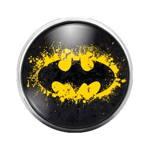 Batman - 18MM Glass Dome Candy Snap Charm GD0110