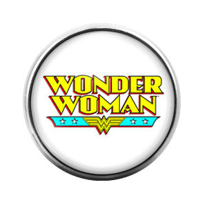 Wonder Woman - 18MM Glass Dome Candy Snap Charm GD0119