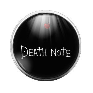 Death Note - 18MM Glass Dome Candy Snap Charm GD0331