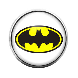 Batman - 18MM Glass Dome Candy Snap Charm GD0115