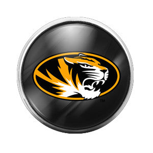 Mizzou Tigers- 18MM Glass Dome Candy Snap Charm GD0035