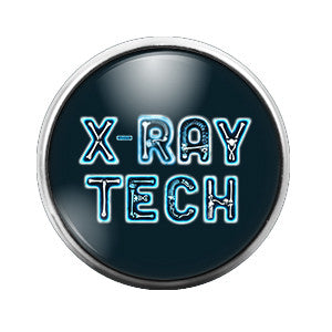 X-Ray Tech- 18MM Glass Dome Candy Snap Charm GD0065